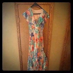 Womens Watercolor dress